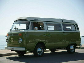 Olive - Classic VW Camper Van hire in Cornwall - Cover Image