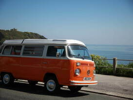 Blossom - Classic VW Camper Van hire in Cornwall