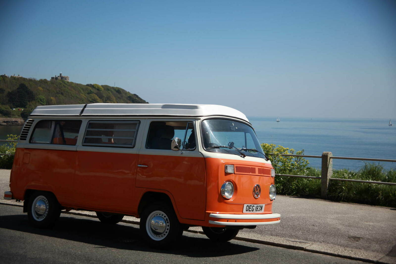 campervan for hire in falmouth from 70 0 blossom classic vw camper van hire in cornwall. Black Bedroom Furniture Sets. Home Design Ideas