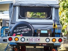 EzyTrail Stirling SE Camper Trailer Hire Brisbane - Image #1