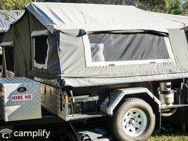 EzyTrail Buckland Camper Trailer Hire Brisbane - Image #1
