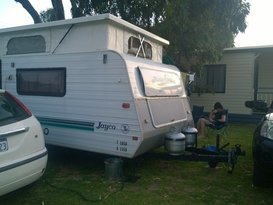 Cosy couple's caravan - Image #1