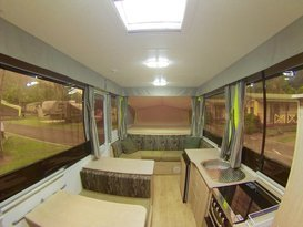 5 Star JAYCO SWAN #2 Outback Deluxe for Hire BRISBANE QLD - Image #2