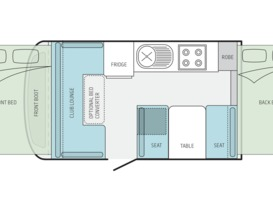 5 Star JAYCO EAGLE OUTBACK #1 for Hire BRISBANE QLD - Image #2