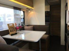 Lightweight full size family caravan for hire Brisbane - Image #1