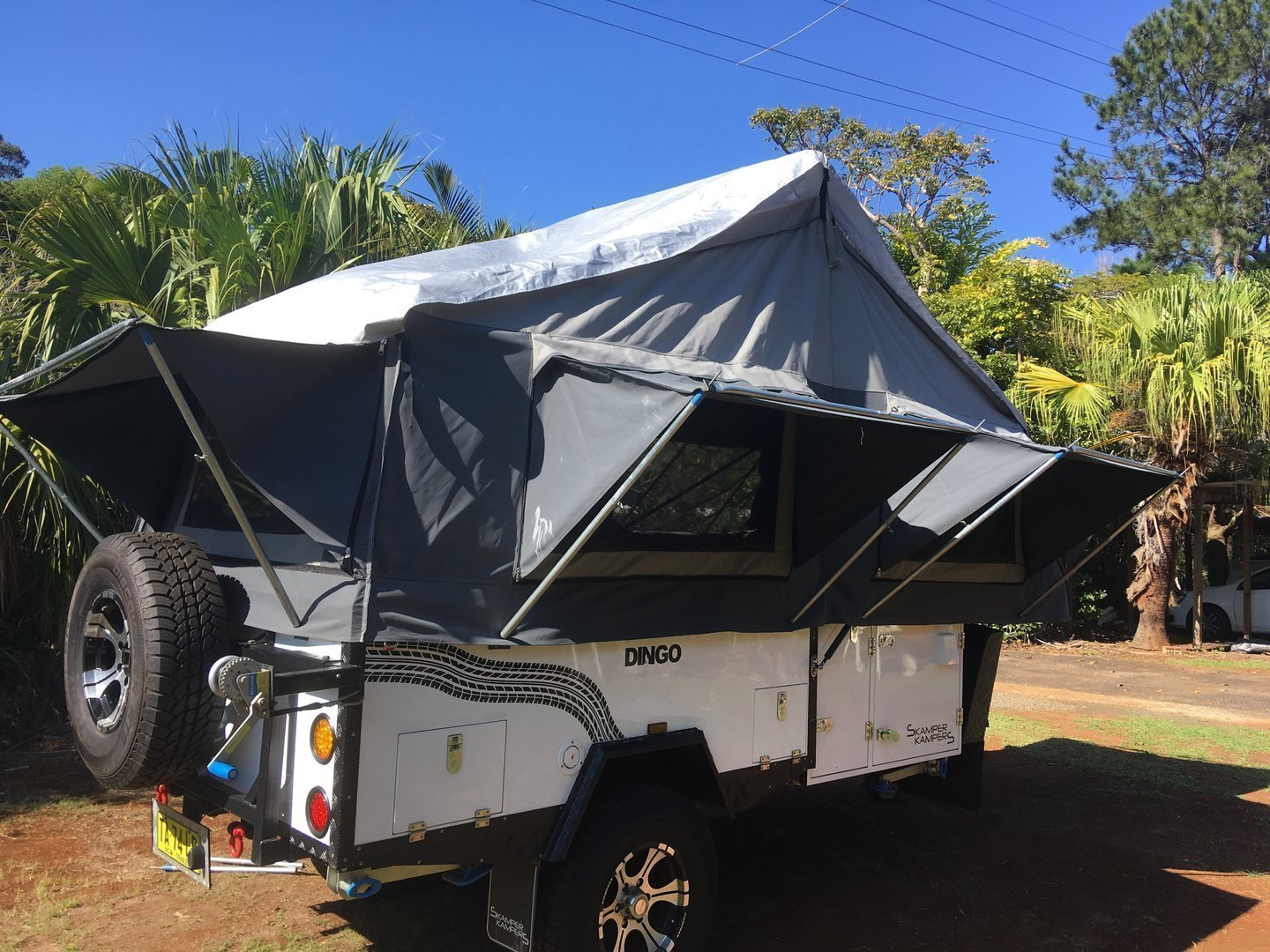 Hard Floor Camper Trailer For Hire In Myocum Nsw From 80