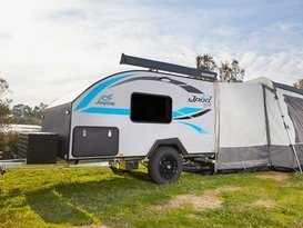 The ultimate light weight Jayco Jpod hire in Brisbane - Image #1