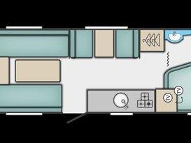 lightweight 6 berth van - Image #4