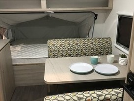 SPECIAL $50 P/N!! Lightweight family caravan for hire Brisbane  - Image #2