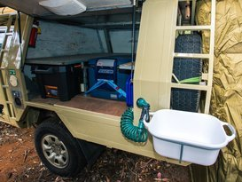 Toyota 4WD double camper (one way hire optional) - Image #4