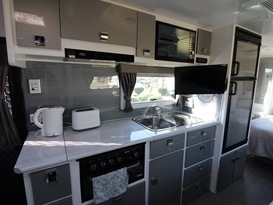 Fonzie-Luxury Family Bunk Caravan with Shower & Toilet  - Image #3
