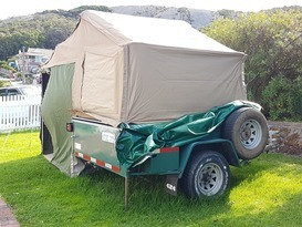 Soft Floor 4 x 4 Camper Trailer - Image #1