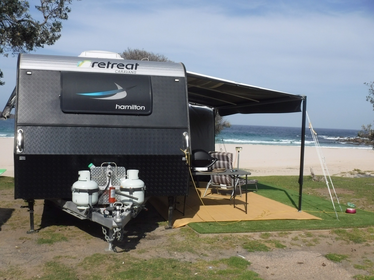 "Caravan for Hire in Gymea Bay NSW from $110 0 ""Luxury"