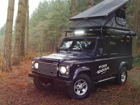 Adventure Ready Defender 110 with roof tent - Image #1