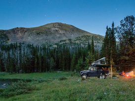 Adventure Ready Defender 110 with roof tent - Image #2