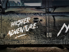 Adventure Ready Defender 110 with roof tent - Image #3