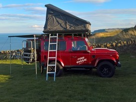 Adventure Ready Defender 90 with roof tent - Image #1