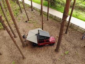 Adventure Ready Defender 90 with roof tent - Image #4