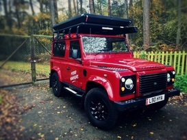 Adventure Ready Defender 90 with roof tent - Image #5