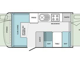5 Star JAYCO SWAN #1 Outback Deluxe for Hire BRISBANE QLD - Image #9
