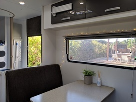 Cruze -free tow & setup* (near-new family van, shower & toilet, very light & easy self-tow) - Image #3