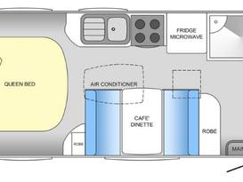 Cruze -free tow & setup* (near-new family van, shower & toilet, very light & easy self-tow) - Image #8