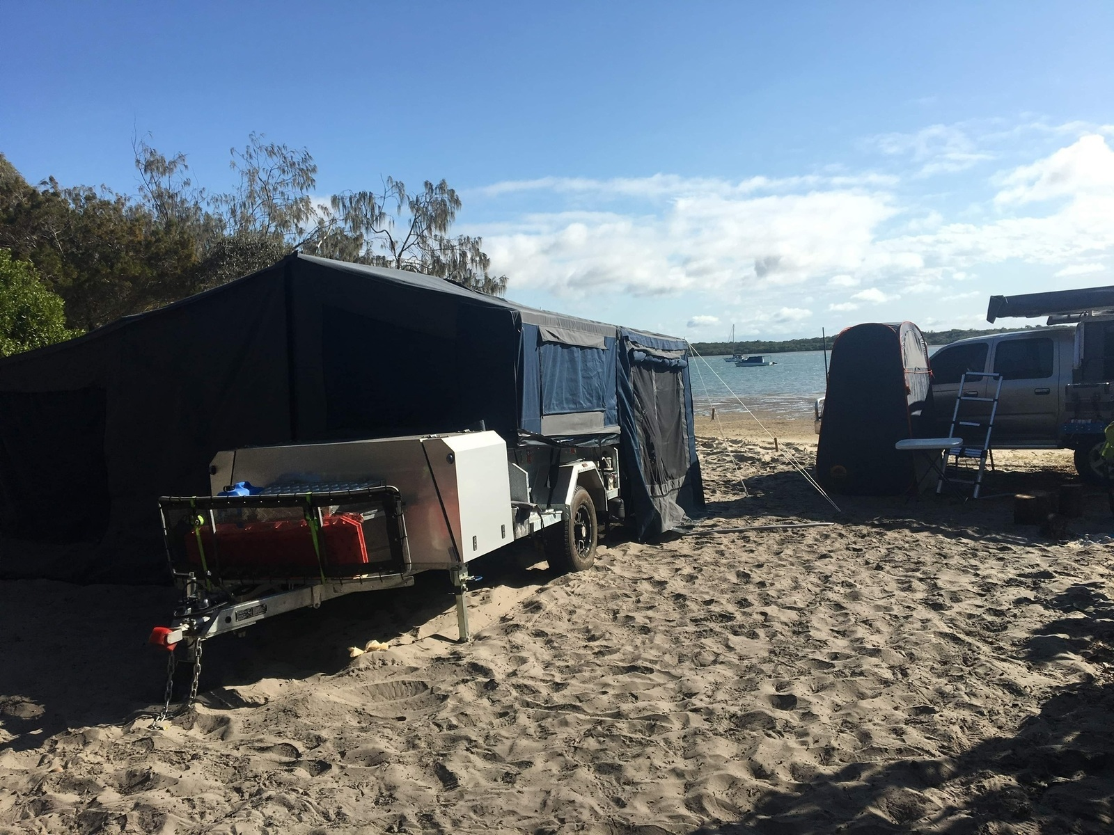 Soft Floor Camper Trailer For Hire In Warner Qld From 85