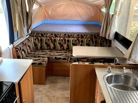 Daisy Dove - 5 berth, easy to tow, battery & solar, loaded with extras - Image #1