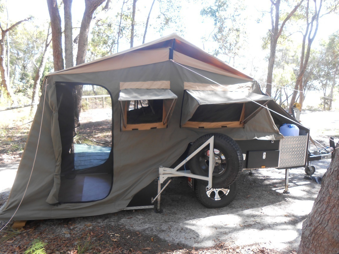 Hard Floor Camper Trailer For Hire In Bulwer Qld From 77
