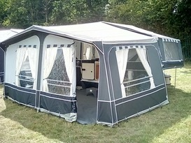 PENNINE COUNTRYMAN DELUXE FOLDING CAMPER - Image #6