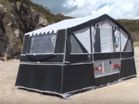 PENNINE COUNTRYMAN DELUXE FOLDING CAMPER - Image #10
