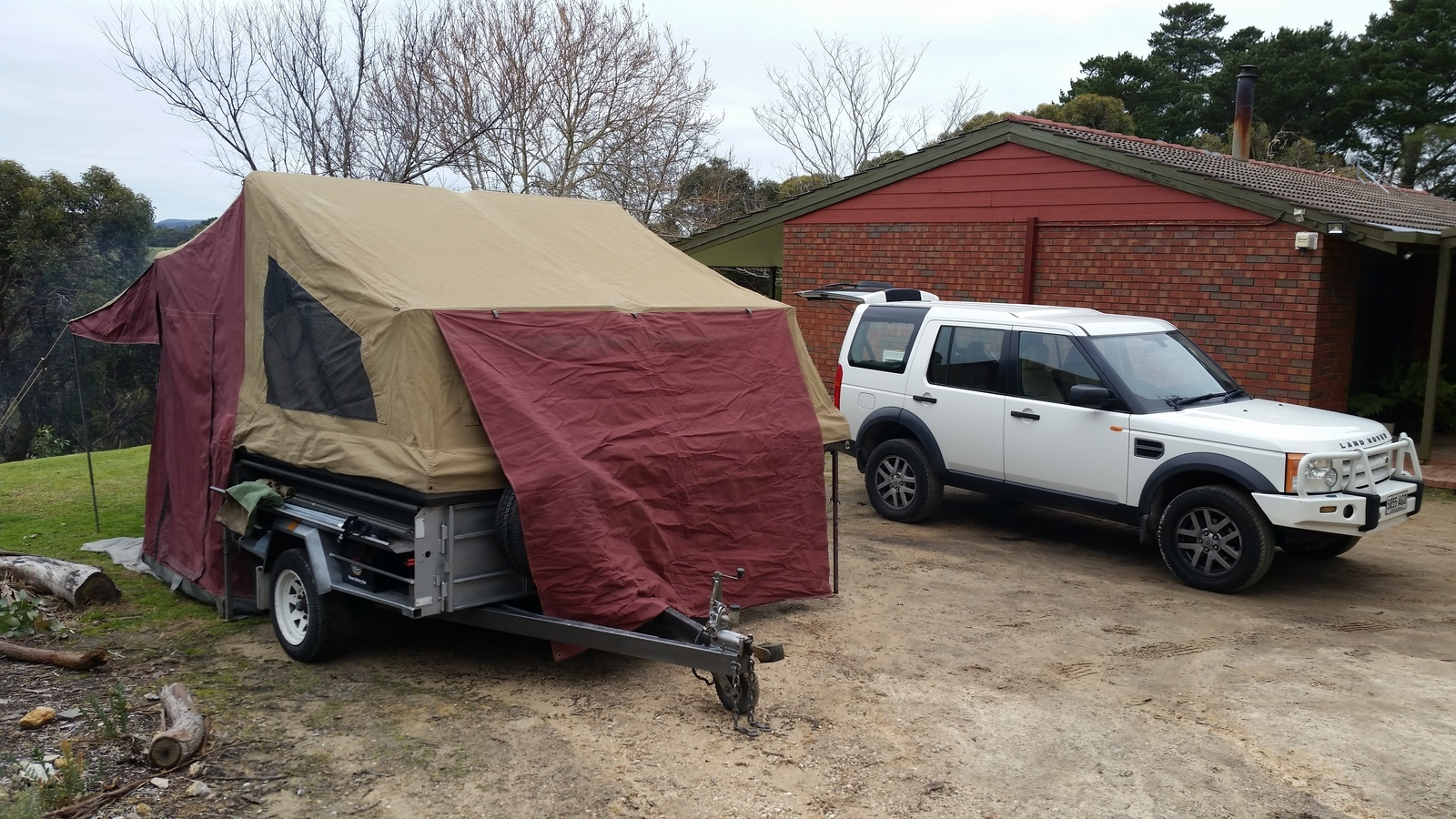Soft Floor Camper Trailer For Hire In Athelstone Sa From