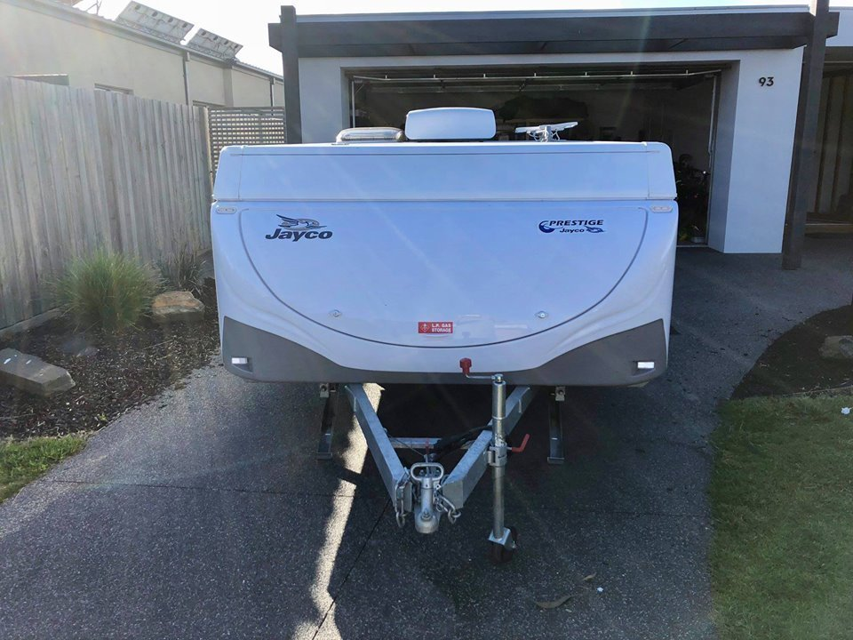 """Pop Top for Hire in Ocean Grove VIC from $90 0 """"Swan with RC"""