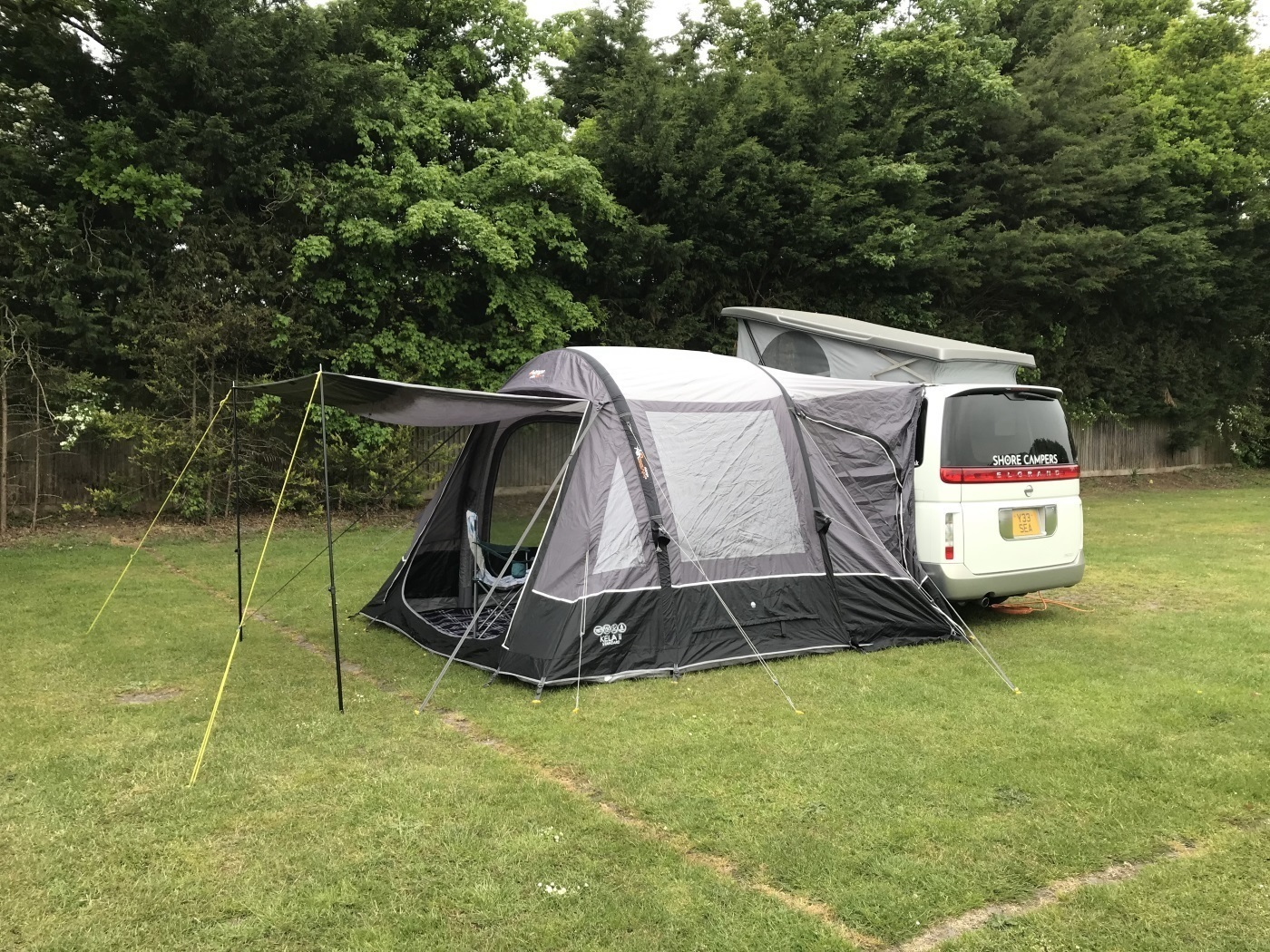 """Campervan for Hire in Bournemouth from £70 0 """"Toto"""" :: Camplify"""
