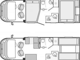 Swift Escape 684 G 5 Berth Motorhome With Garage - Image #6