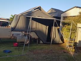 Easy Set up rear fold off road Camper - Image #3