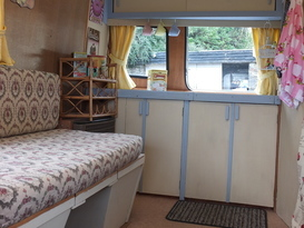 Pretty Vintage Caravan in peaceful, private setting - Image #6