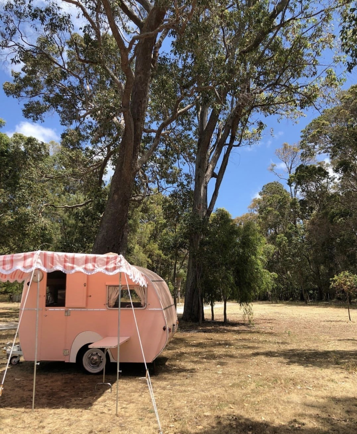 """Caravan For Hire In Perth WA From $190.0 """"Coco The Vintage"""