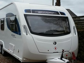 Swift Freedom 6 berth Fixed Double Bed  - Image #1