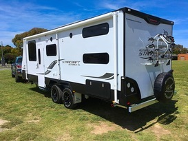 Jayco Starcraft Outback 22ft with AIR CON & GAS DUCTED HEATING - Image #6