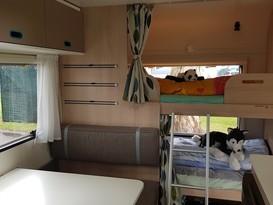 Adria - Family friendly caravan with bunks - Lightweight caravan - 3 month old - Image #2