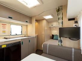 Adria - Family friendly caravan with bunks - Lightweight caravan - 3 month old - Image #4