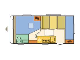 Adria - Family friendly caravan with bunks - Lightweight caravan - 3 month old - Image #6