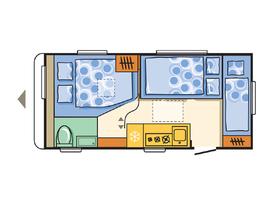 Adria - Family friendly caravan with bunks - Lightweight caravan - 3 month old - Image #7