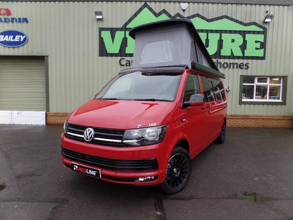 """286c1b6a0c3d8d Campervan for Hire in Watford Gap from £99.0 """"Long Red""""    Camplify"""