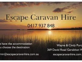 Escape Caravan Hire - We have the accommodation You choose the destination - Image #10