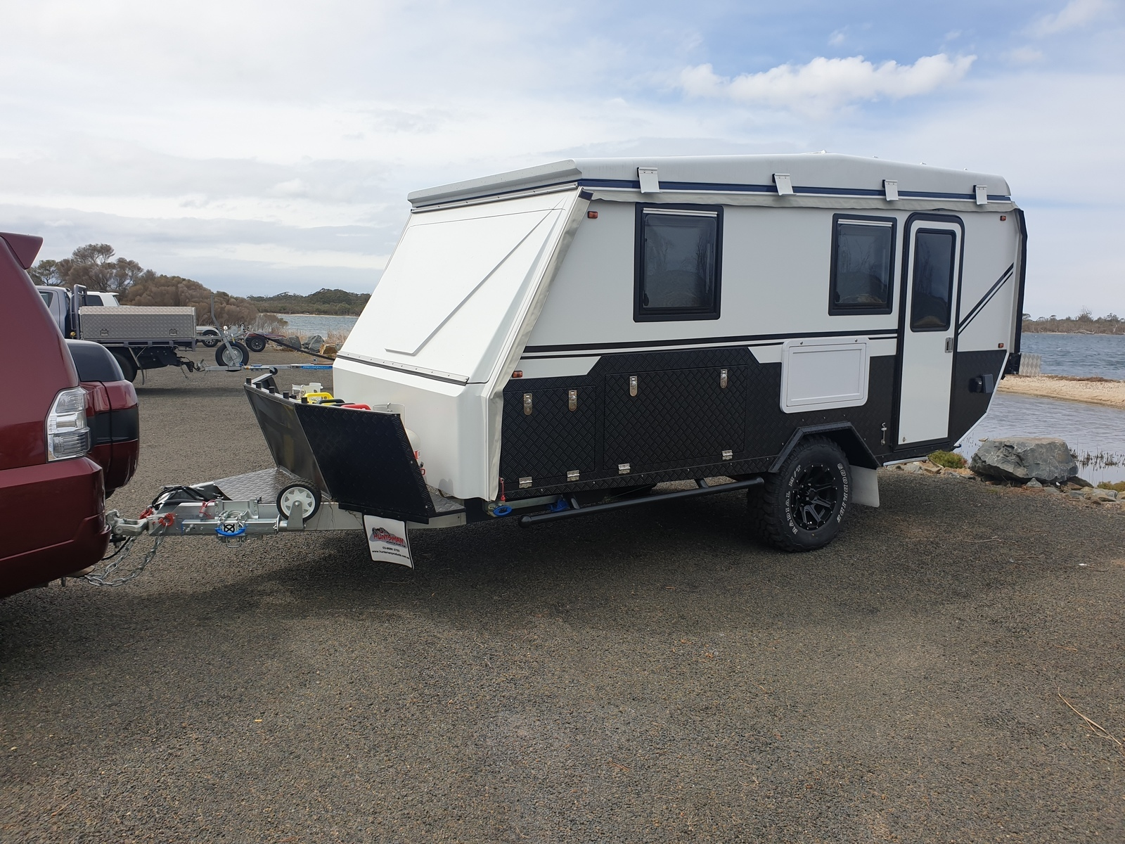 Expander For Hire In Hallam Vic From 100 0 2019 Parkes Gt Hybrid 15ft 5 7 Berth Camplify