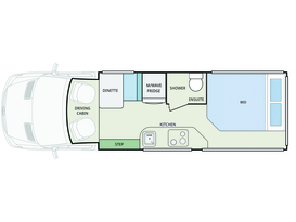 CURRENT SPECIAL - 5 Star COUPLES RETREAT Motorhome - Brisbane - Image #14