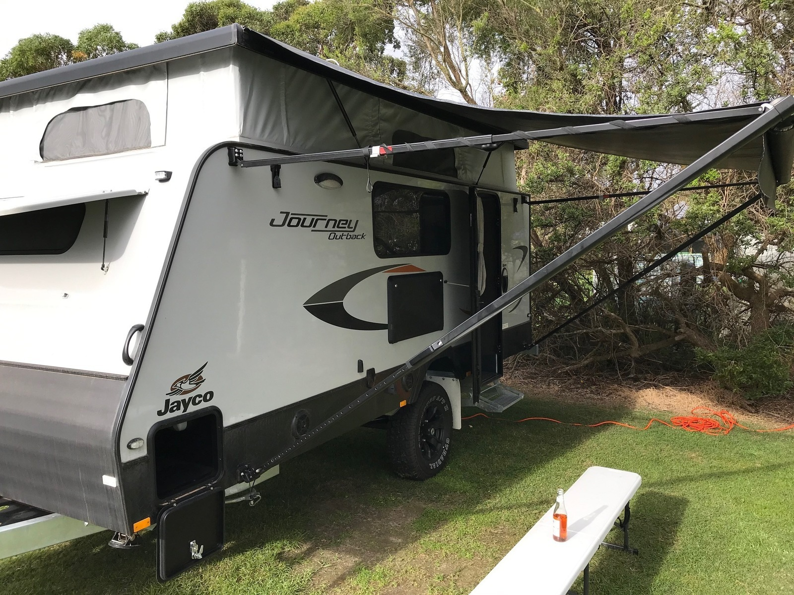 """Caravan for Hire in Mount Martha VIC from $110.0 """"Happy ..."""