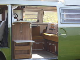 Olive - Classic VW Camper Van hire in Cornwall - Image #2